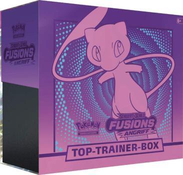 Fusionsangriff Top Trainer Box