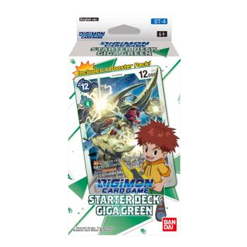 Digimon Card Game - Starter Deck Giga Green ST-4