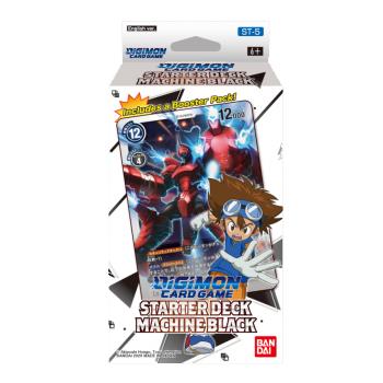 Digimon Card Game - Starter Deck Machine Black ST-5