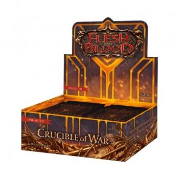 FAB Crucible of War Unlimited Booster Display